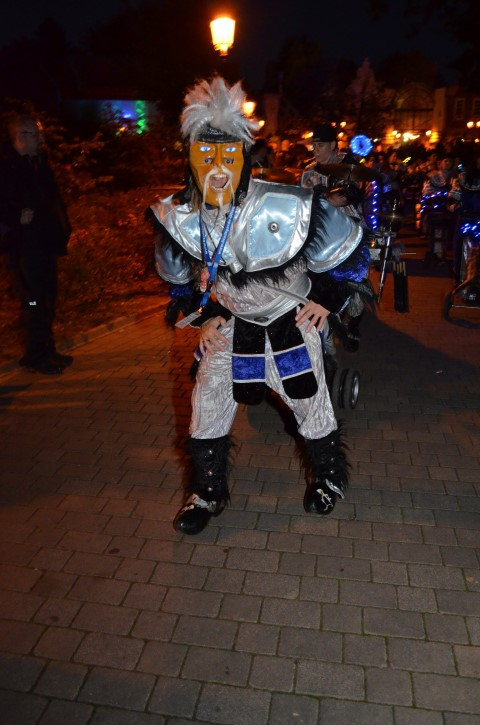 Holiday Park Halloween Parade Stadtgarde Offenbach Icebreakers