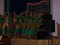 Crazy Dancers - Auftritt Sängerfreunde