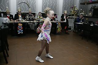 Lena-Sophie beim Ordensfest vom OKV