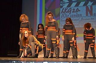 Die Black Fairies & Glamour Girls auf der Langener SKG Garderevue_31