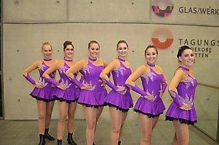 Die Black Fairies & Glamour Girls auf der Langener SKG Garderevue_3