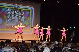 Die Black Fairies & Glamour Girls auf der Langener SKG Garderevue_6